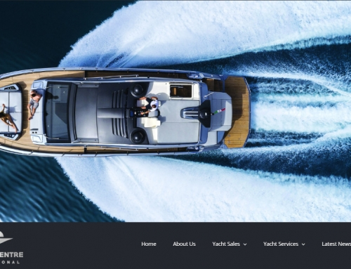 Marine Centre International, exclusive dealer of luxury yachts in Egypt & Greece, launches new website