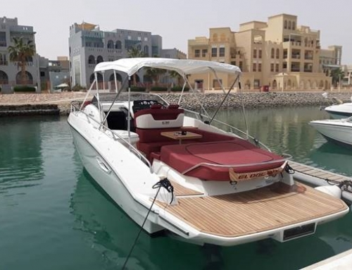 A brand new Cranchi E30 is sold by Marine Centre International in Egypt