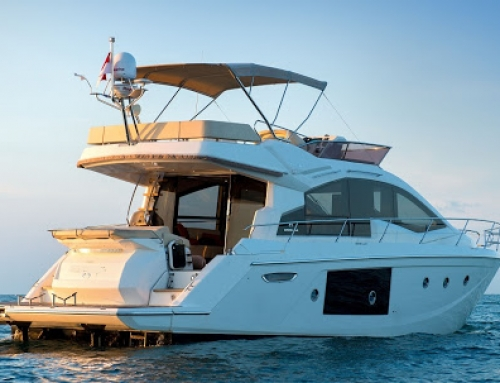 A Cranchi 54 Fly is sold by Marine Centre International
